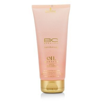 BC Oil Miracle Rose Oil Oil-In-Shampoo (For Stressed Hair and Scalp)  200ml/6.7oz