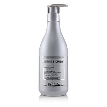 Professionnel Serie Expert - Silver Magnesium Neutralising Shampoo (For Grey and White Hair) 500ml/16.9oz