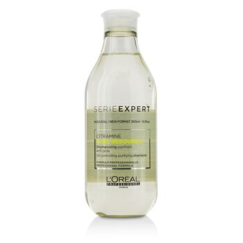 Professionnel Serie Expert - Pure Resource Citramine Oil Controlling Purifying Shampoo  300ml/10.1oz