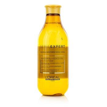 Professionnel Serie Expert - Nutrifier Glycerol + Coco Oil Питательный Шампунь без Силикона  300ml/10.1oz