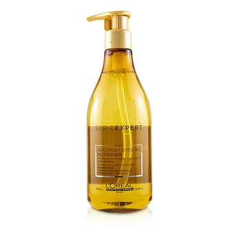 Professionnel Serie Expert - Nutrifier Glycerol + Coco Oil Nourishing System Silicone-Free Shampoo 500ml/16.9oz