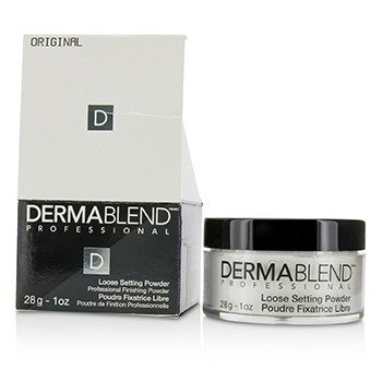 Dermablend Loose Setting Powder (Smudge Resistant, Long Wearability) - Original (Box Slightly Damaged)  28g/1oz