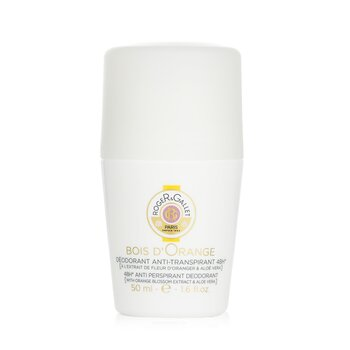 Roger & Gallet Bois d' Orange 48H Anti Perspirant Deodorant Roll On  50ml/1.6oz
