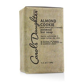 Almond Cookie Oatmeal Bar Soap  198g/7oz