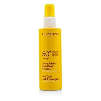 Clarins Sun Care Milk-Lotion Spray Very High Protection UVB/UVA 50+ (Unboxed)  150ml/5.3oz