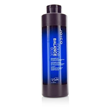 Color Balance Blue Shampoo (Eliminates Brassy/Orange Tones on Lightened Brown Hair)  1000ml/33.8oz