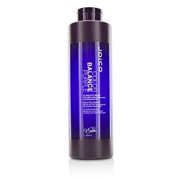 Color Balance Purple Conditioner (Eliminates Brassy/Yellow Tones on Blonde/Gray Hair) 1000ml/33.8oz