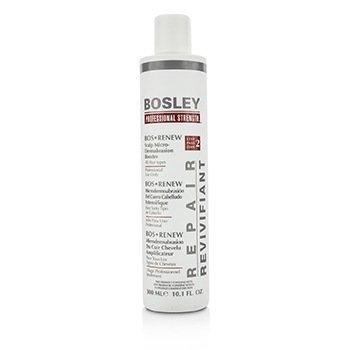 Bosley معزز تسحيج دقيق لتجديد فروة الرأس Professional Strength - الخطوة 2 (لجميع أنواع الشعر)  300ml/10.1oz