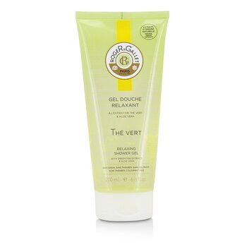 Roger & Gallet Green Tea (The Vert) Relaxing Shower Gel  200ml/6.6oz