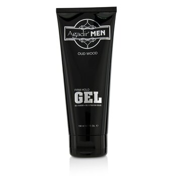 Agadir Men Oud Wood Firm Hold Gel  198ml/6.7oz