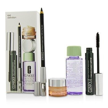 Eye Definition Set: 1x Kohl Shaper For Eyes + 1x High Impact Mascara + 1x Makeup Remover + 1x All About Eyes  4pcs
