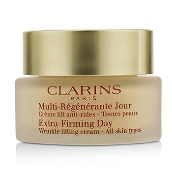 Extra-Firming Day Wrinkle Lifting Cream - All Skin Types (Box Slightly Damaged)-50ml/1.7oz recovery overnight cream, 2.6fl.oz