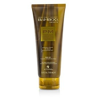 Bamboo Smooth Anti-Frizz PM Overnight Smoothing Treatment  150ml/5oz