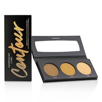ベアミネラル BarePro Contour Face Shaping Powder Trio - Tan To Dark  15g/0.51oz
