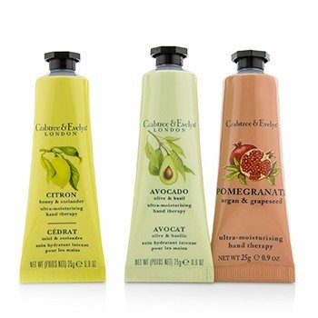Botanicals Hand Therapy Set (1x Citron, Honey & Coriander, 1x Pomegranate, Argan & Grapeseed, 1x Avocado, Olive & Basil)  3x25g/0.9oz