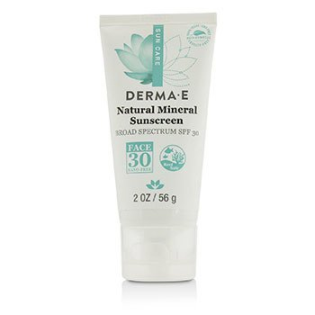 Natural Mineral Oil-Free Sunscreen Broad Spectrum SPF 30 - Face  56g/2oz