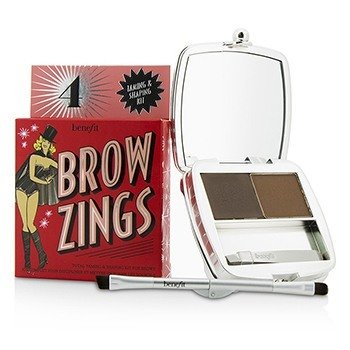 בנפיט Brow Zings (Total Taming & Shaping Kit For Brows) ערכה לגבות- #4 (Medium)  4.35g/0.15oz