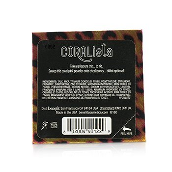 CORALista Blush For A Tropical Flush  8g/0.28oz