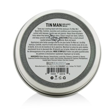 鬍鬚專用地定型蠟 Tin Man No. 1 Beard Wax  57g/2oz