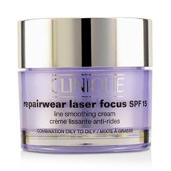 Clinique Repairwear Laser Focus Crema Suavizante de Líneas SPF 15 - Piel Mixta Grasa a Grasa  50ml/1.7oz