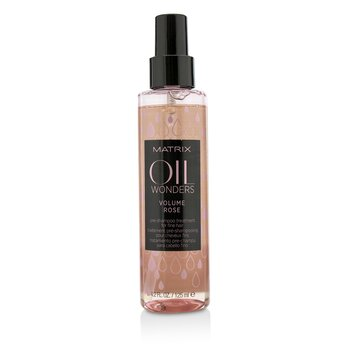 Oil Wonders Volume Rose Pre-Shampoo Treatment (For Fine Hair)  125ml/4.2oz