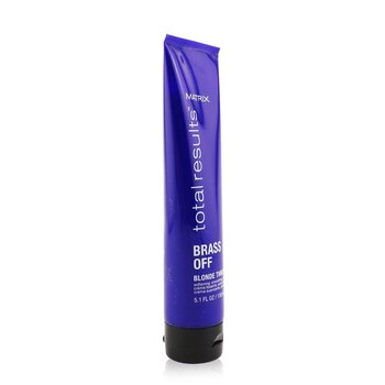 Total Results Brass Off Blonde Threesome (Softening, Smoothening, Protecting Cream)  150ml/5.1oz