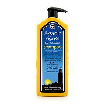 Agadir Argan Oil Daily Volumizing Sulfate Free Shampoo (Semua Jenis Rambut)  1000ml/33.8oz