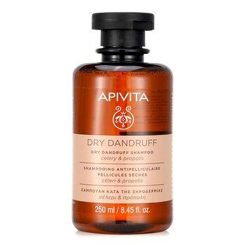 Dry Dandruff Shampoo with Celery & Propolis (For Dry Scalp)  250ml/8.45oz