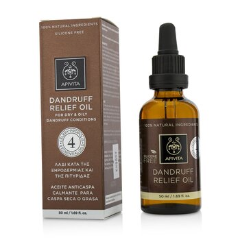 Dandruff Relief Oil with Celery, Propolis & 4 Essential Oils (For Dry & Oily Dandruff Conditions)  50ml/1.69oz