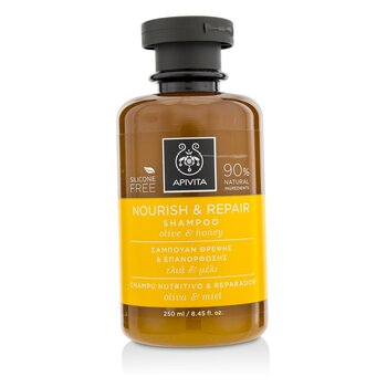 Nourish & Repair Shampoo with Olive & Honey (For Dry-Damaged Hair)  250ml/8.45oz