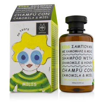 Apivita Kids Shampoo with Chamomile & Honey  250ml/8.5oz