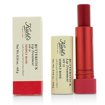 キールズ Butterstick Lip Treatment SPF25 - Simply Rose  4g/0.14oz