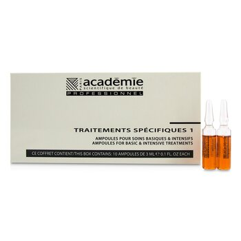 Specific Treatments 1 Ampoules Rougeurs Diffuses - Salon Product  10x3ml/0.1oz