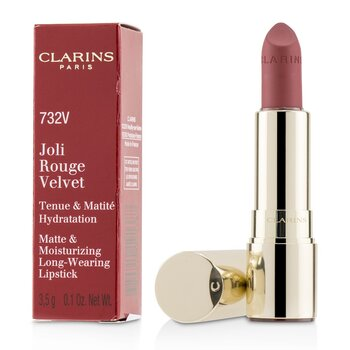 Joli Rouge Velvet (Matte & Moisturizing Long Wearing Lipstick)  3.5g/0.1oz