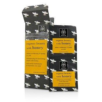 Express Beauty Moisturizing & Nourishing Mask with Honey (Box Slightly Damaged)  6x(2x8ml)