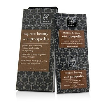 Express Beauty Mask For Young Oily Skin with Propolis (Box Slightly Damaged)  6x(2x8ml)