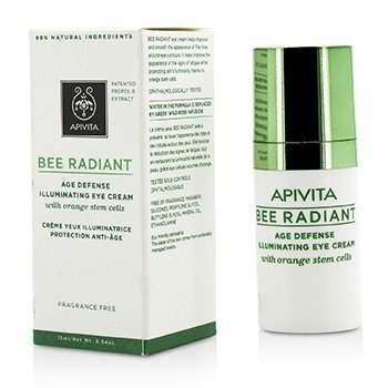 Apivita Bee Radiant Age Defense Illuminating Eye Cream (Exp. Date: 06/2018)  15ml/0.54oz