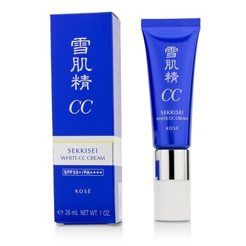 Sekkisei White CC Cream SPF50+ PA++++ - # 01 Light Ochre 26ml/1oz