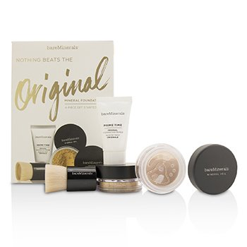 BareMinerals Kit Get Started Base Mineral - # 13 Golden Beige  4pcs