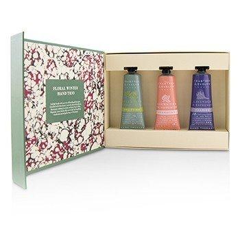 Floral Winter Hand Trio (1x Lavender & Espresso, 1x Rosewater & Pink Peppercorn, 1x Pear & Pink Magnolia)  3x25ml/0.86oz