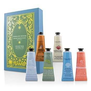 Crabtree & Evelyn Indulgent Winter Hand Collection  6x25ml/0.86oz