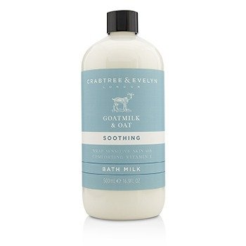 Goatmilk & Oat Soothing Bath Milk  500ml/16.9oz