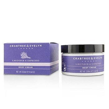 Lavender & Espresso Calming Body Cream  250ml/8.64oz