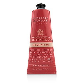 Rosewater & Pink Peppercorn Hydrating Hand Therapy  100ml/3.45oz