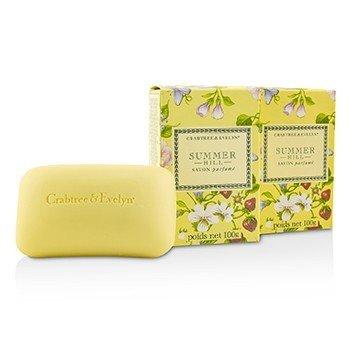 Summer Hill Scented Bath Soap  3x100g/3.5oz