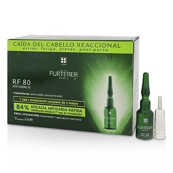 RF 80 ATP Energie Anti-Hair Loss Ritual Concentrated Serum (Sudden Hair Loss)  12x5ml/0.16oz