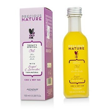 Precious Nature Today's Special Oil with Grape & Lavender (For Curly & Wavy Hair)  100ml/3.38oz