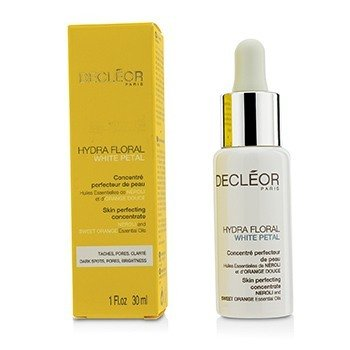 Decleor Hydra Floral White Petal Neroli & Sweet Orange Concentrado Perfeccionante de Piel  30ml/1oz