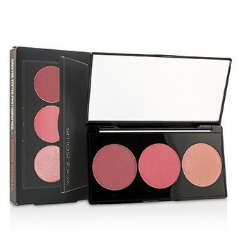 Smashbox L.A. Lights Blush & Highlight Palette - # Malibu Berry  8.7g/0.3oz