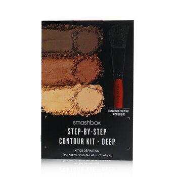 Step By Step Contour Kit (1 x Contour Palette + 1 x Contour Brush)  11.47g/0.4oz